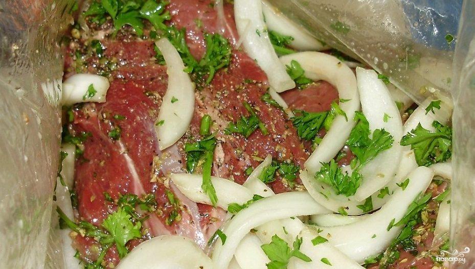 Рецепт Маринад для шашлыка с луком