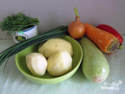 Рецепт Oвощной суп-пюре