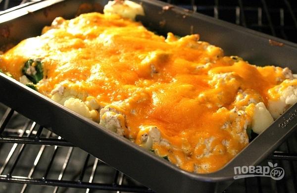 Рецепты с брокколи в духовке с сыром