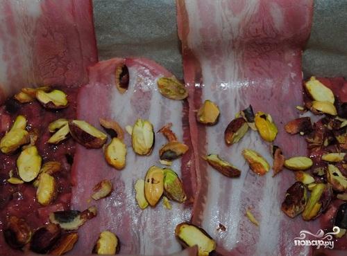 Паштет из свиной печени с фисташками - фото шаг 2
