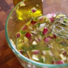 Рецепт Свиные отбивные в маринаде с сальсой