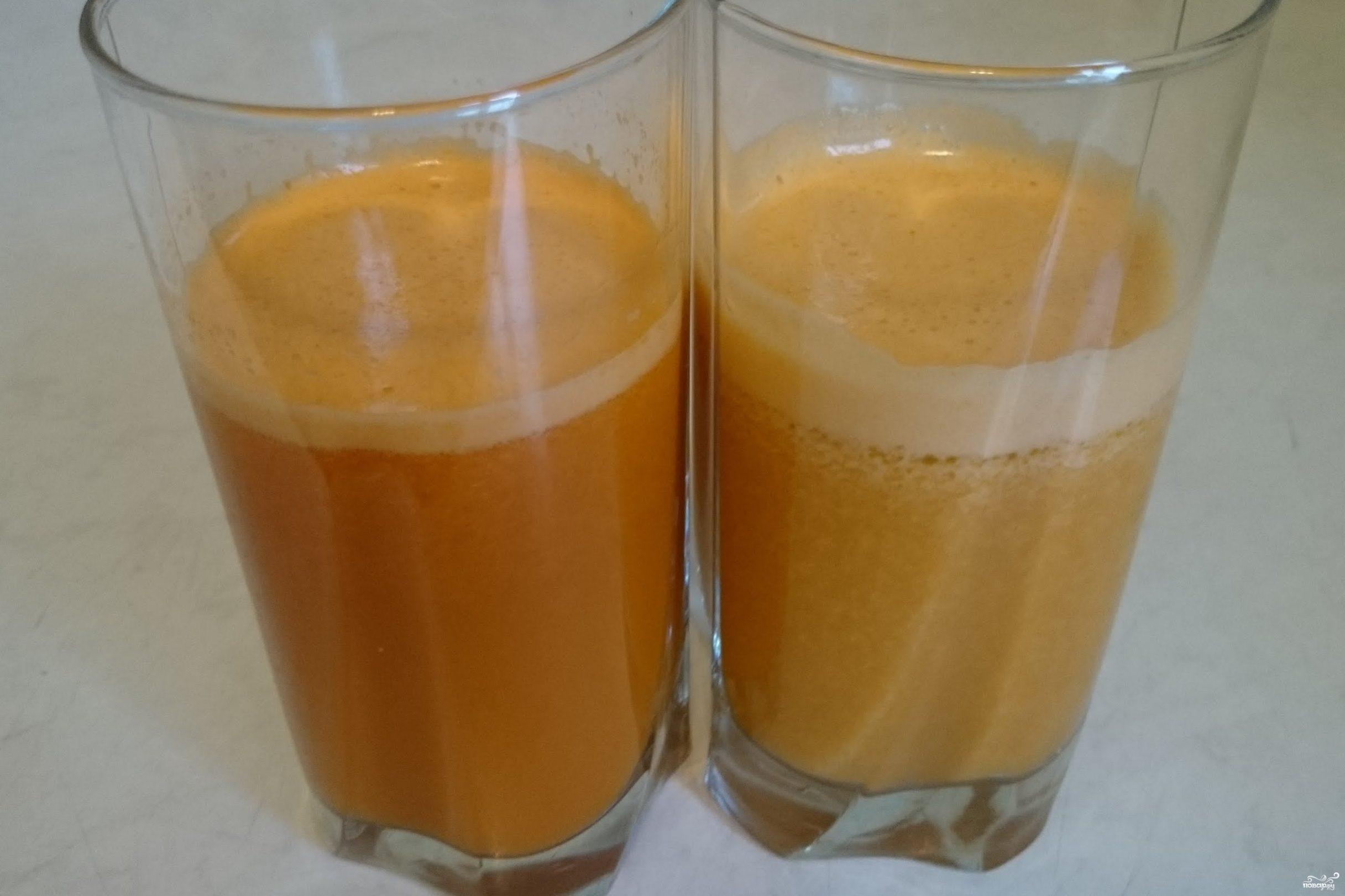 Морковно-картофельный сок