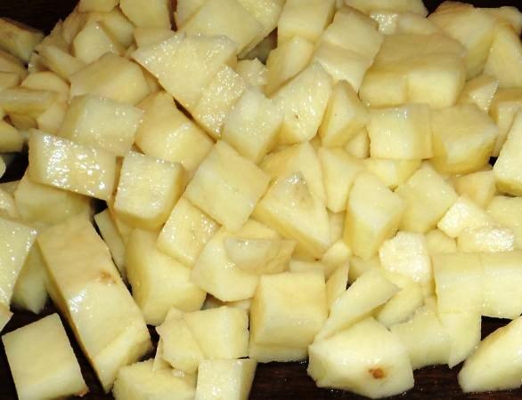 Куриный суп с белой фасолью - фото шаг 4