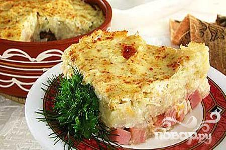 Рецепт Картофель с квашеной капустой