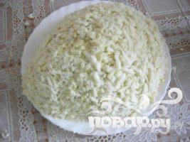 """Праздничный салат """"Ежик в тумане"""" - фото шаг 5"""
