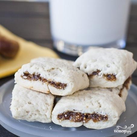 Итальянское печенье с инжиром - фото шаг 7