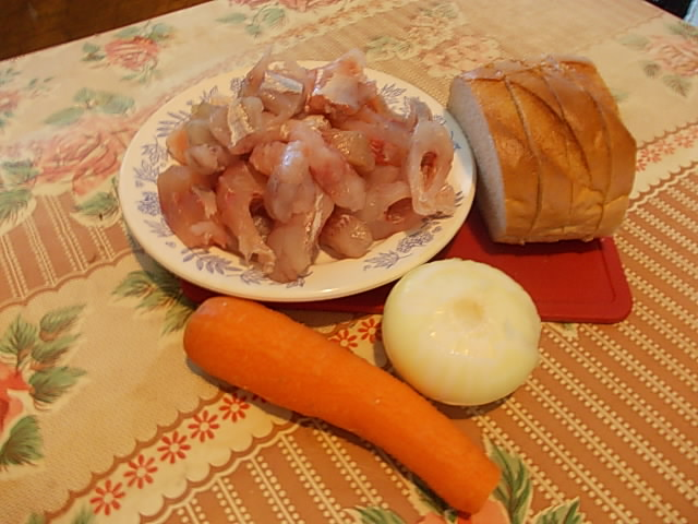 Рецепт Фарш из речной рыбы