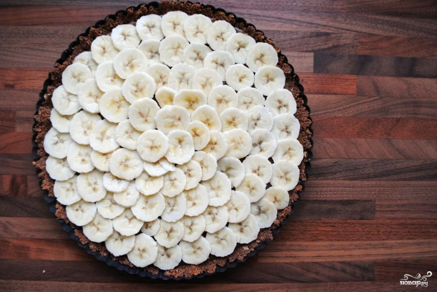 Простой банановый торт - фото шаг 7