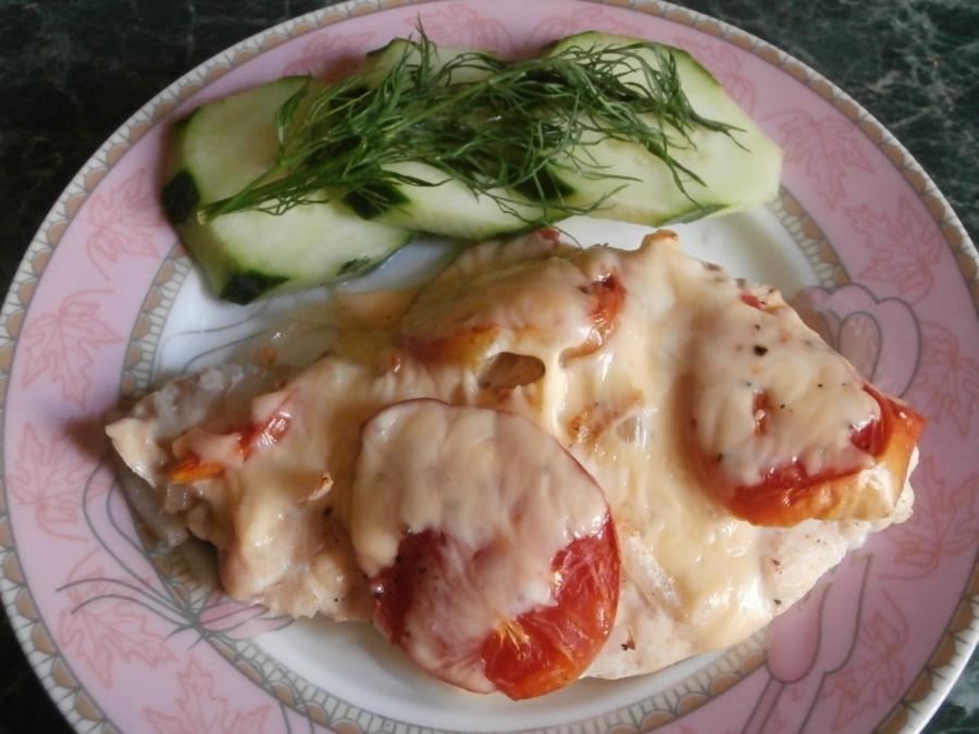 Куриная грудка, запеченная с сыром - фото шаг 4