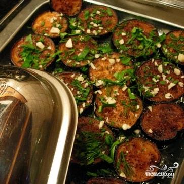 Баклажаны с раздельно обжаренными овощами - фото шаг 8