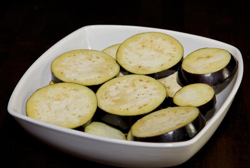 Рецепт Жареные баклажаны с уксусом и чесноком