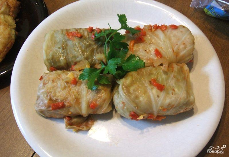 Рецепт Голубцы с фаршем и рисом