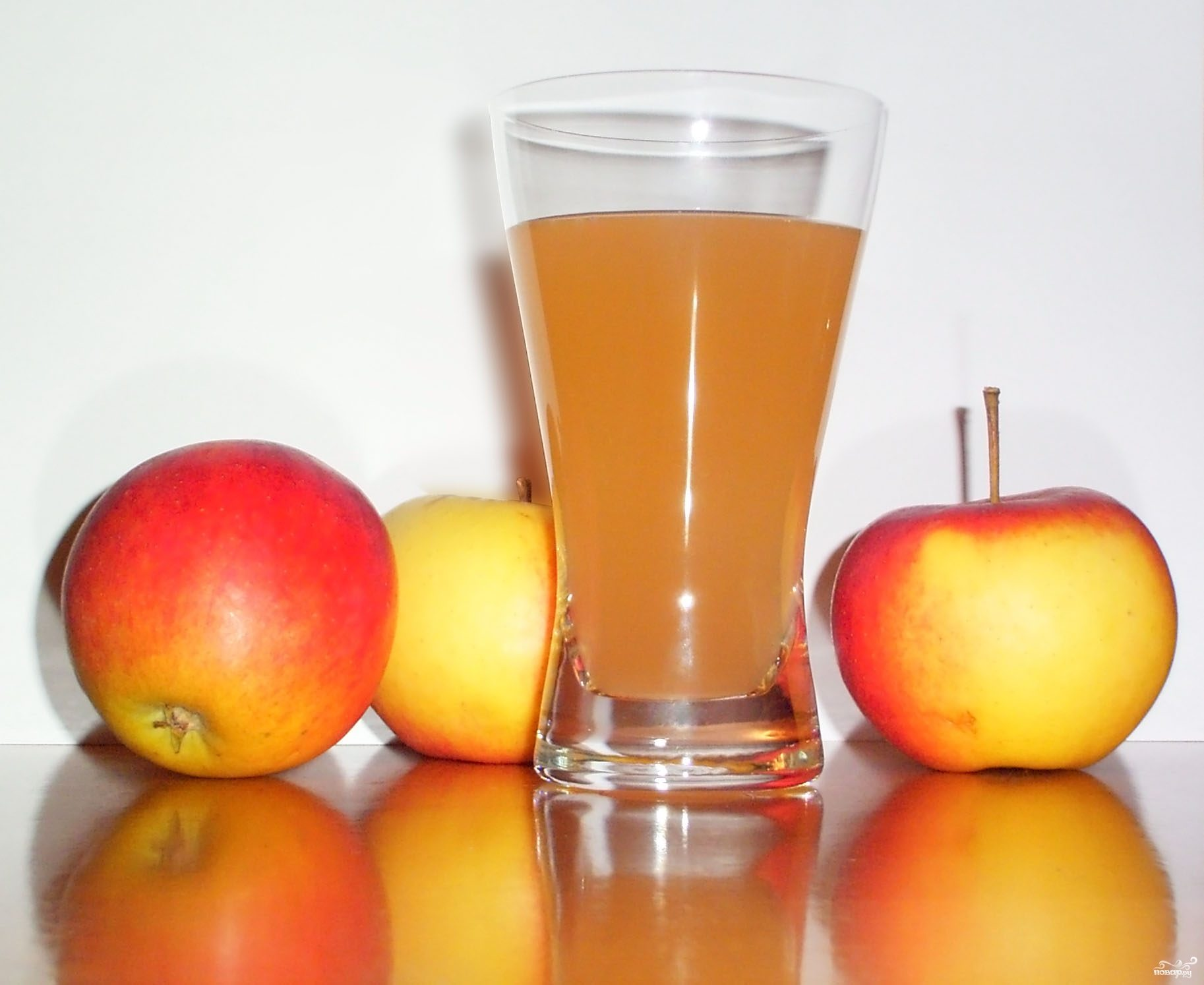 Рецепт Сок из яблок на зиму