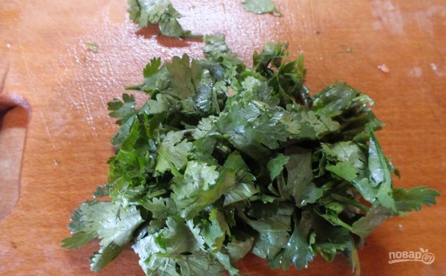 Салат с соевым соусом - фото шаг 4