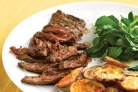 Говяжий стейк с пикантным картофелем