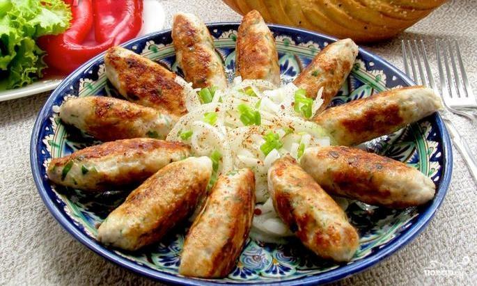 Люля-кебаб из куриного фарша
