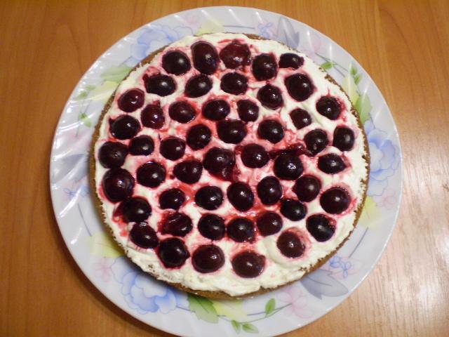 Торт на день рождения мамы - фото шаг 12