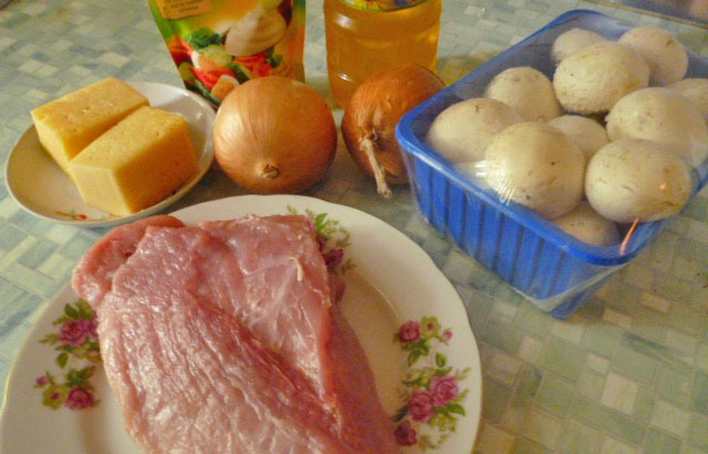 Рецепт Мясо по-капитански в духовке