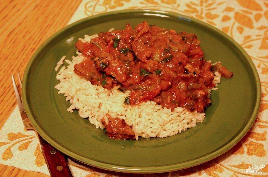 Рецепт Азу с рисом