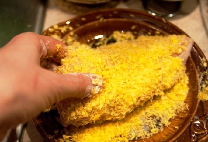 Куриная грудка с сыром - фото шаг 4