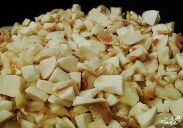 Рецепт Подливка из грибов со сметаной