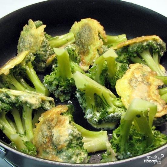 Жареная брокколи - фото шаг 7