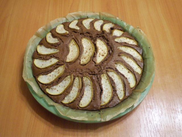 Открытый пирог с грушами - фото шаг 8