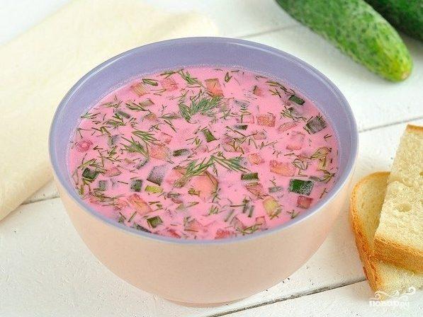 Рецепт Холодник с колбасой
