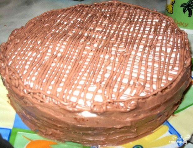 """Торт """"Минутка"""" в духовке быстро"""