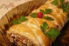 Быстрый пирог с мясом