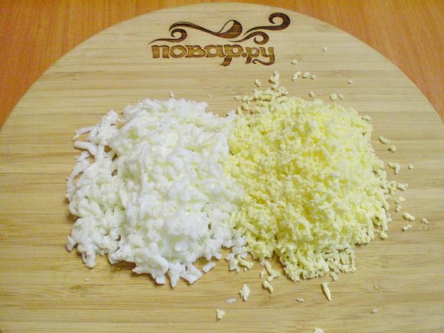 Салат мимоза без картошки и моркови рецепт с фото