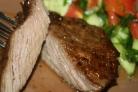 Мраморная говядина на мангале