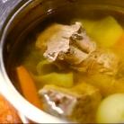 Рецепт Маринованный язык с соусом тартар