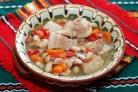Суп из белой фасоли со свининой