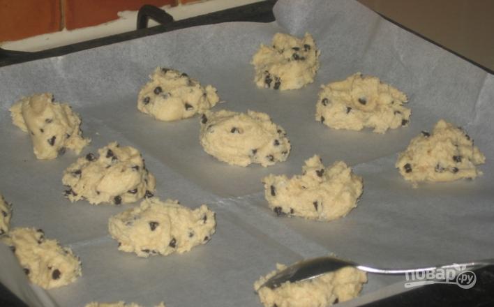 Печенье с шоколадными каплями - фото шаг 8