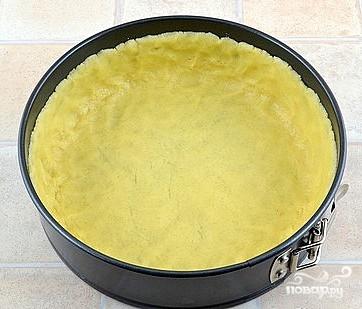 Творожный пирог с персиками - фото шаг 4