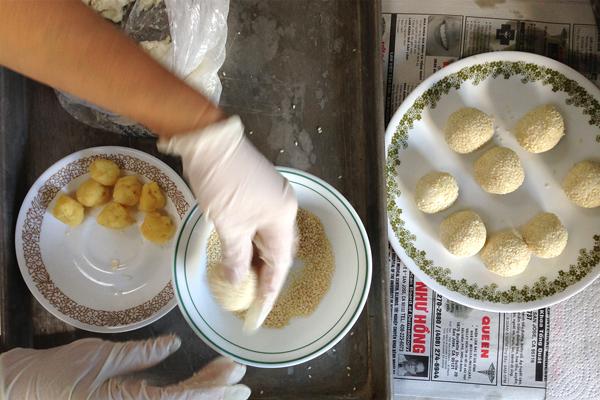 Рецепт Кунжутные шарики