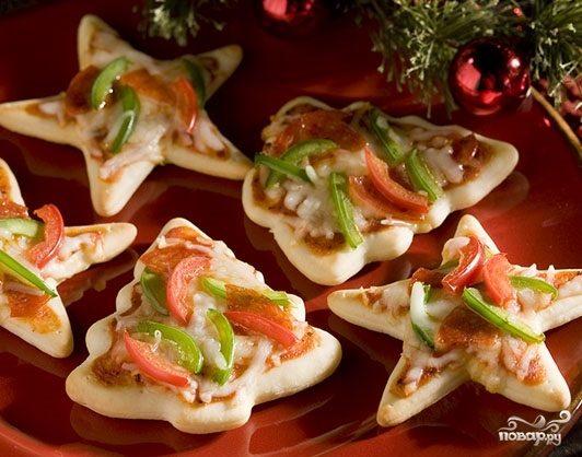 Рецепт Горячие бутерброды на Новый Год