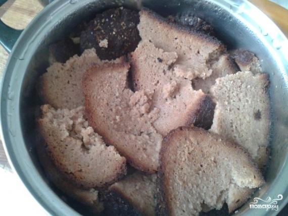 Хлебный суп - фото шаг 2