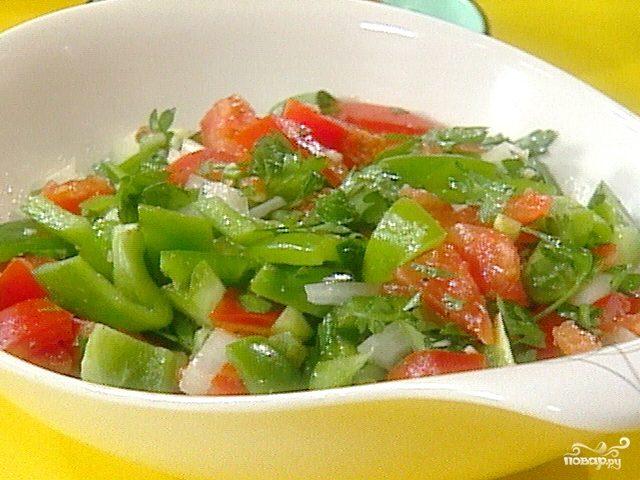 Салат из болгарского перца и помидор на зиму рецепты с фото