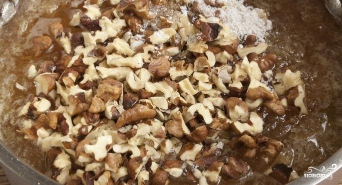 Варенье из айвы с грецкими орехами - фото шаг 4