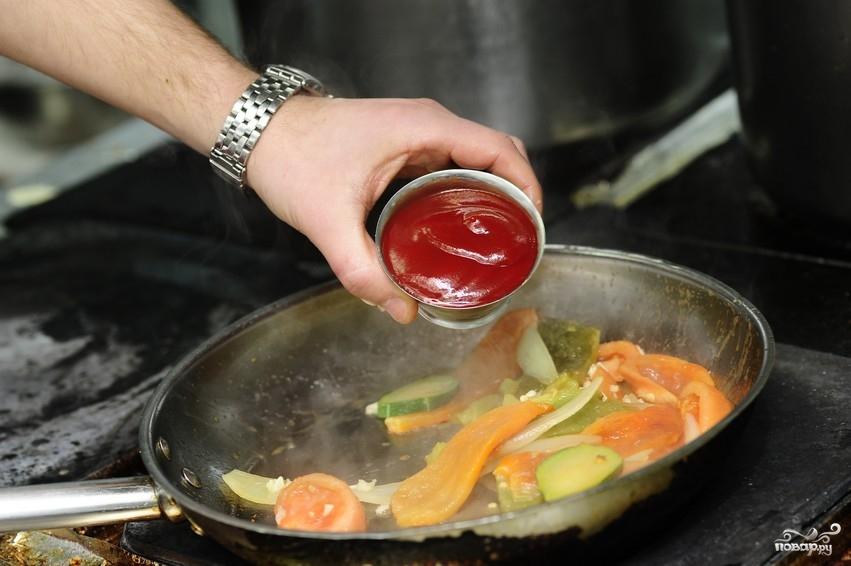 овощей фольгой тушеных рецепт фото с