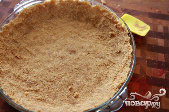 Пирог с шоколадной начинкой и зефирным наполнением - фото шаг 1