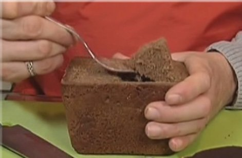 Рецепт Грибной суп в бородинском хлебе