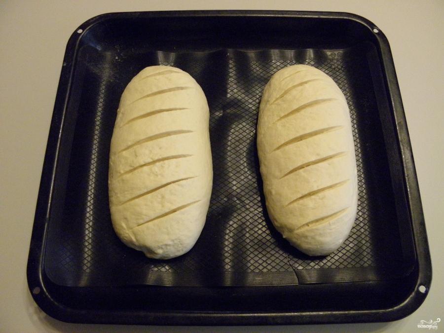 Постный хлеб в духовке - фото шаг 10