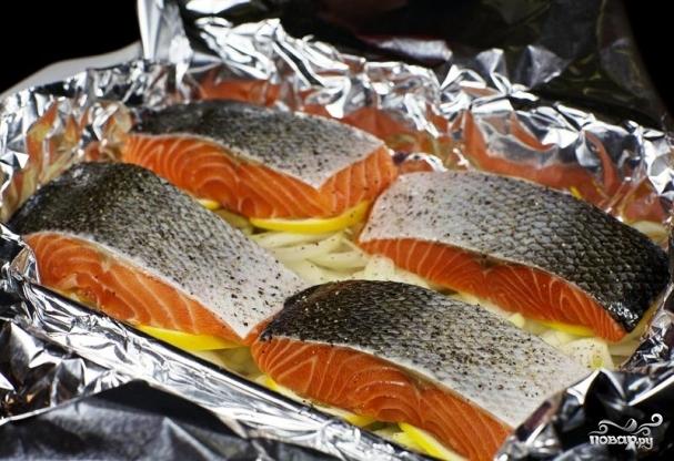 как приготовить рыбу в фольге рецепт