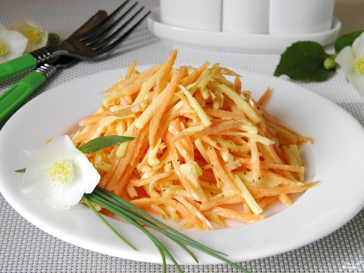 Как готовить салат с капустой и морковью