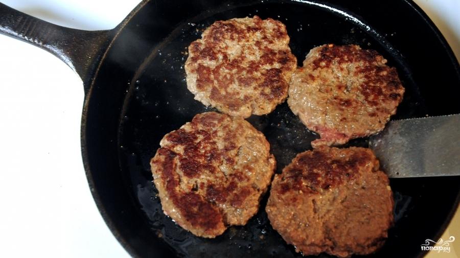 Котлеты для гамбургеров - фото шаг 3