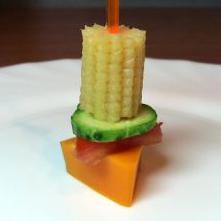 Канапе из мяса и овощей - фото шаг 6