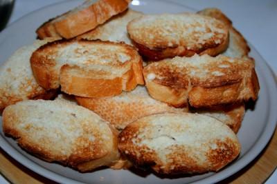 Рецепт Закуска с печенью трески